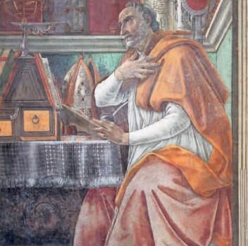 Saint Augustin par Boticelli