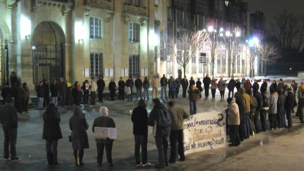 Cercle de silence Saint-Denis