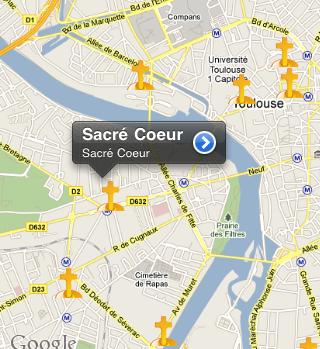 recherche eglise application Messe Info