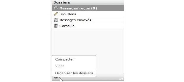 1-webmail - colonne gauche modifie