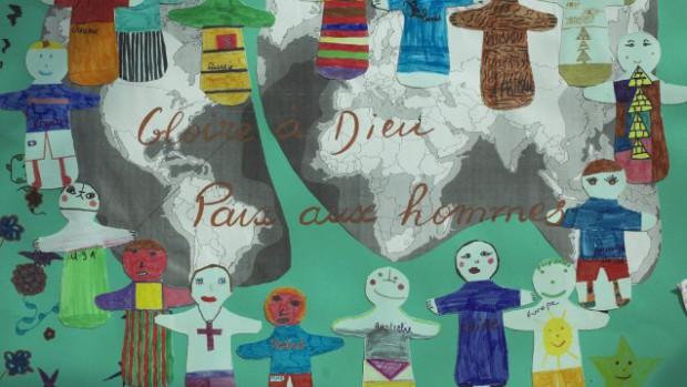 Dessin d'enfant pour la paix