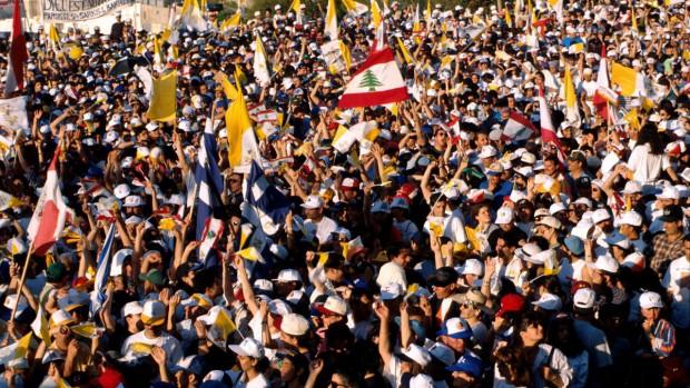 Jean-Paul II au Liban en 1997