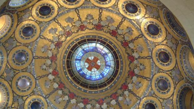 Coupole Basilique Notre-Dame du Rosaire Lourdes