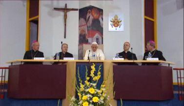 Lourdes Discours de Benoit XVI aux évêques