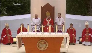 Lourde Homélie de la messe