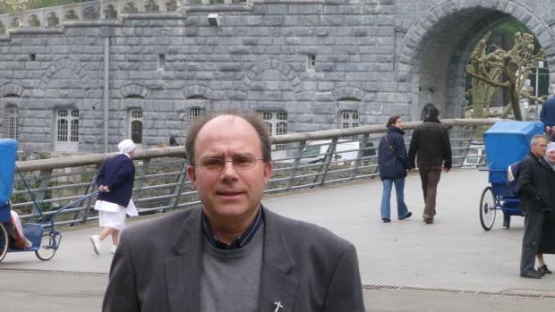 Mgr Philippe Ballot portrait AP Lourdes