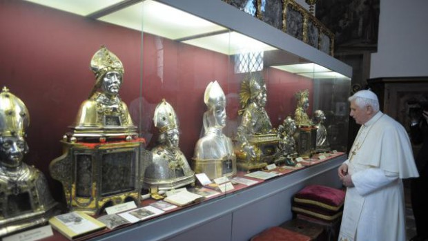 Benoit XVI à Bressanone
