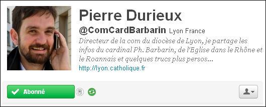Compte Twitter ComCardBarbarin