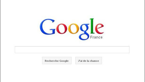 Capture d'ecran Google