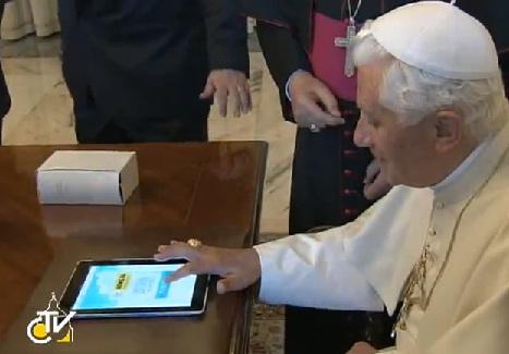 pape benoit XVI twitter